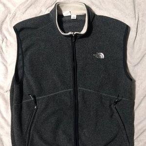 Men's The North Face fleece vest XL